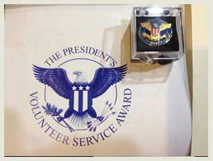 United States Presidential Volunteer Service Award