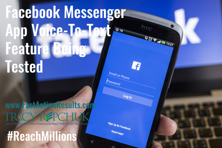 Facebook Messenger App Voice-To-Text Feature Being Tested