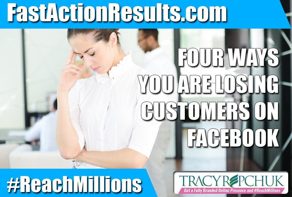 Four Ways You Are Losing Customers on Facebook